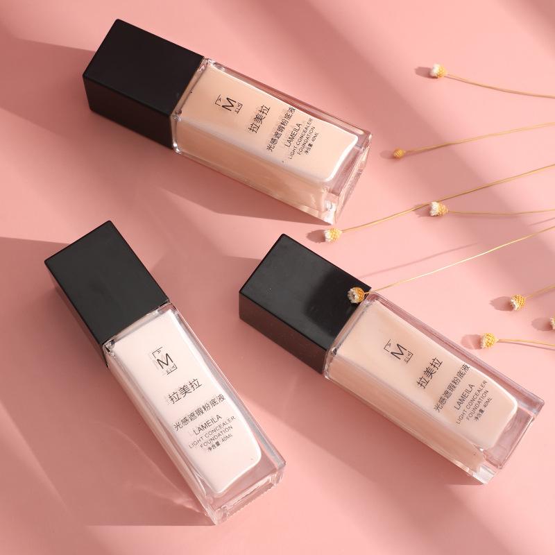 包邮粉底液保湿遮瑕强控油裸妆持久化妆师专用BB霜