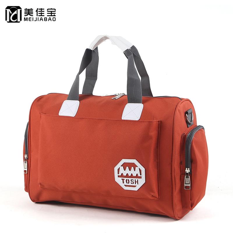 韩版大容量旅行袋手提旅行包可装衣服的包包行李包女防水旅游包男