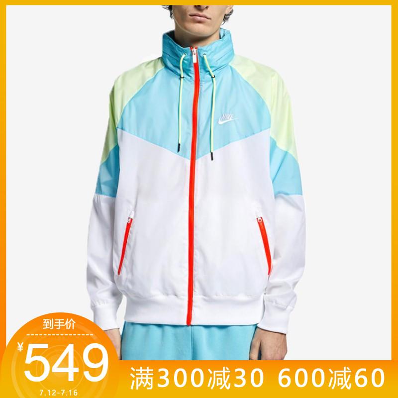 Nike耐克19新款男休閒運動梭織連帽夾克外套 928858-010