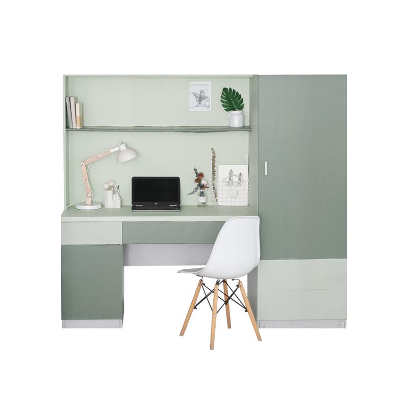 風北歐學生宿舍裝飾墻紙寢室桌面 ins 現代簡約莫蘭迪純色臥室壁紙