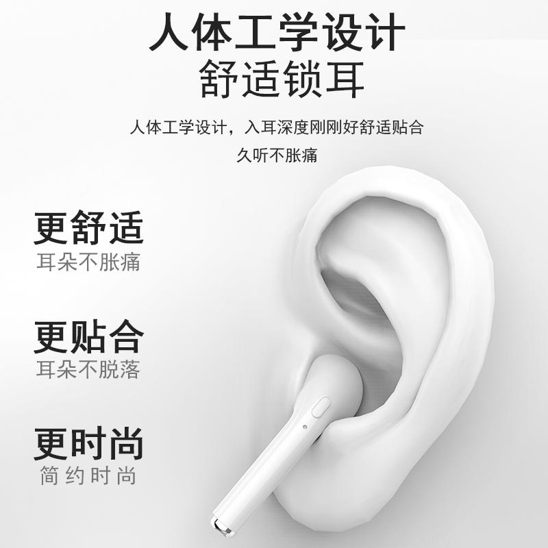 蓝牙耳机无线双耳单耳运动跑步立体声入耳式oppo小米苹果安卓通用【图3】