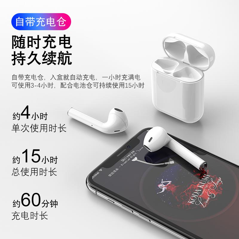 蓝牙耳机无线双耳单耳运动跑步立体声入耳式oppo小米苹果安卓通用【图5】
