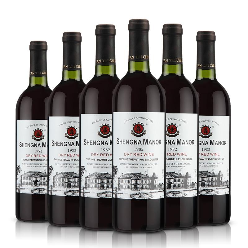 瓶干红波尔多葡萄酒特价 12 红酒买一箱送一箱共 AOC 法国进口 盛纳