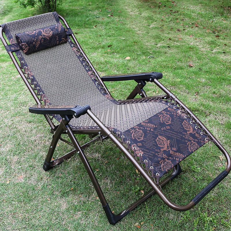 夏季陽臺懶人涼椅子辦公室躺椅布摺疊午休夏天老人靠椅睡椅午睡床