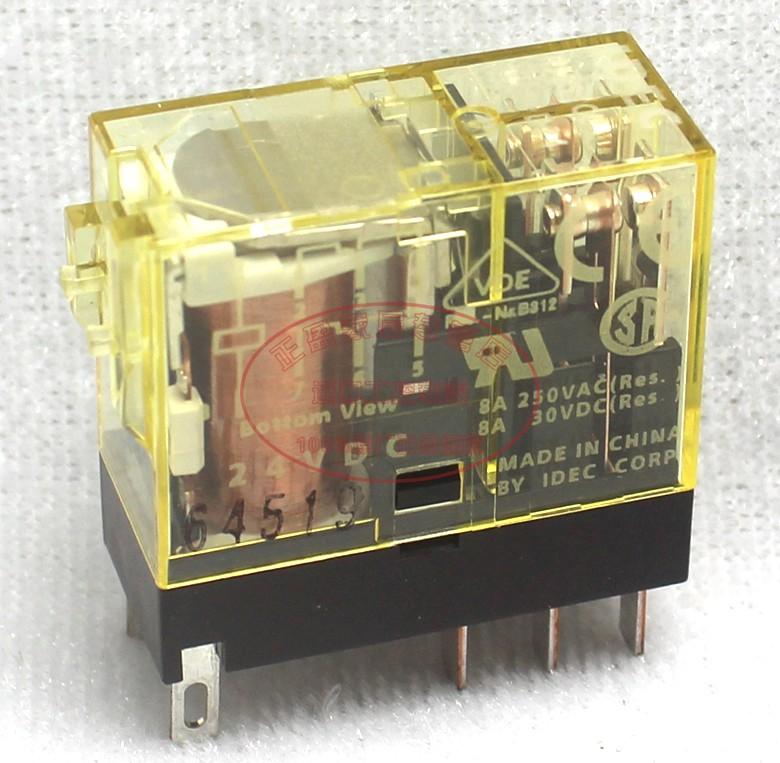原装正品日本和泉(苏州) IDEC中间继电器RJ2S-CL-D24 DC24V RJ25