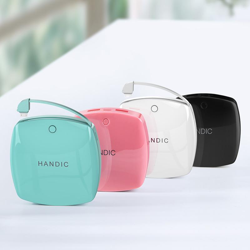 便携可爱卡通适用于MIUI苹果vivo华为oppo手机通用迷你充电宝女生移动电源创意冲大容量超薄闪充小巧快充毫安