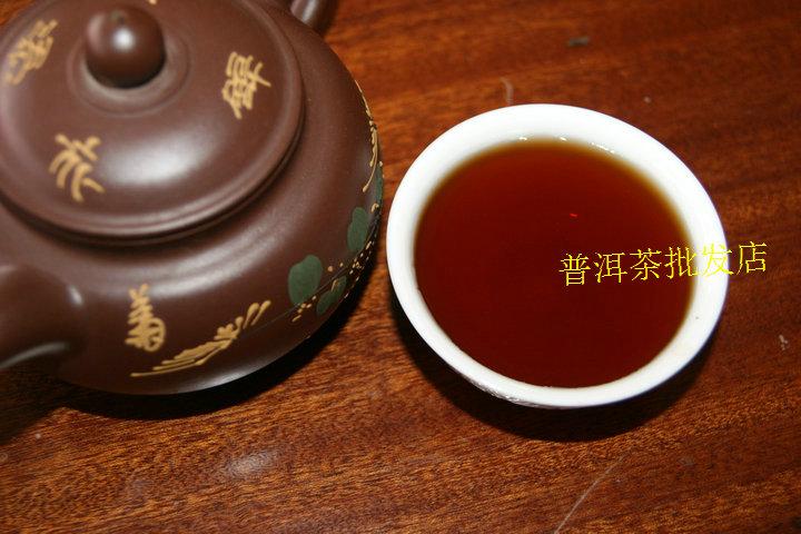 精装木盒装 年勐海老茶宫廷陈年熟茶 99 熟茶 散茶 普洱茶 云南
