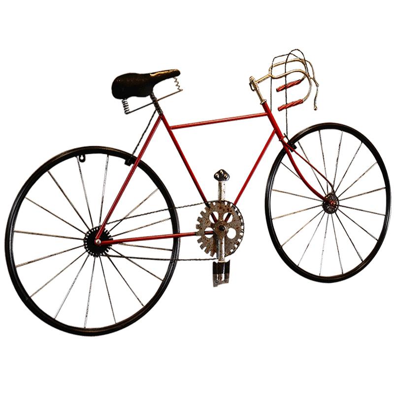 复古铁艺自行车奶茶烧烤店铺挂饰墙壁装饰品创意餐厅墙面墙上挂件