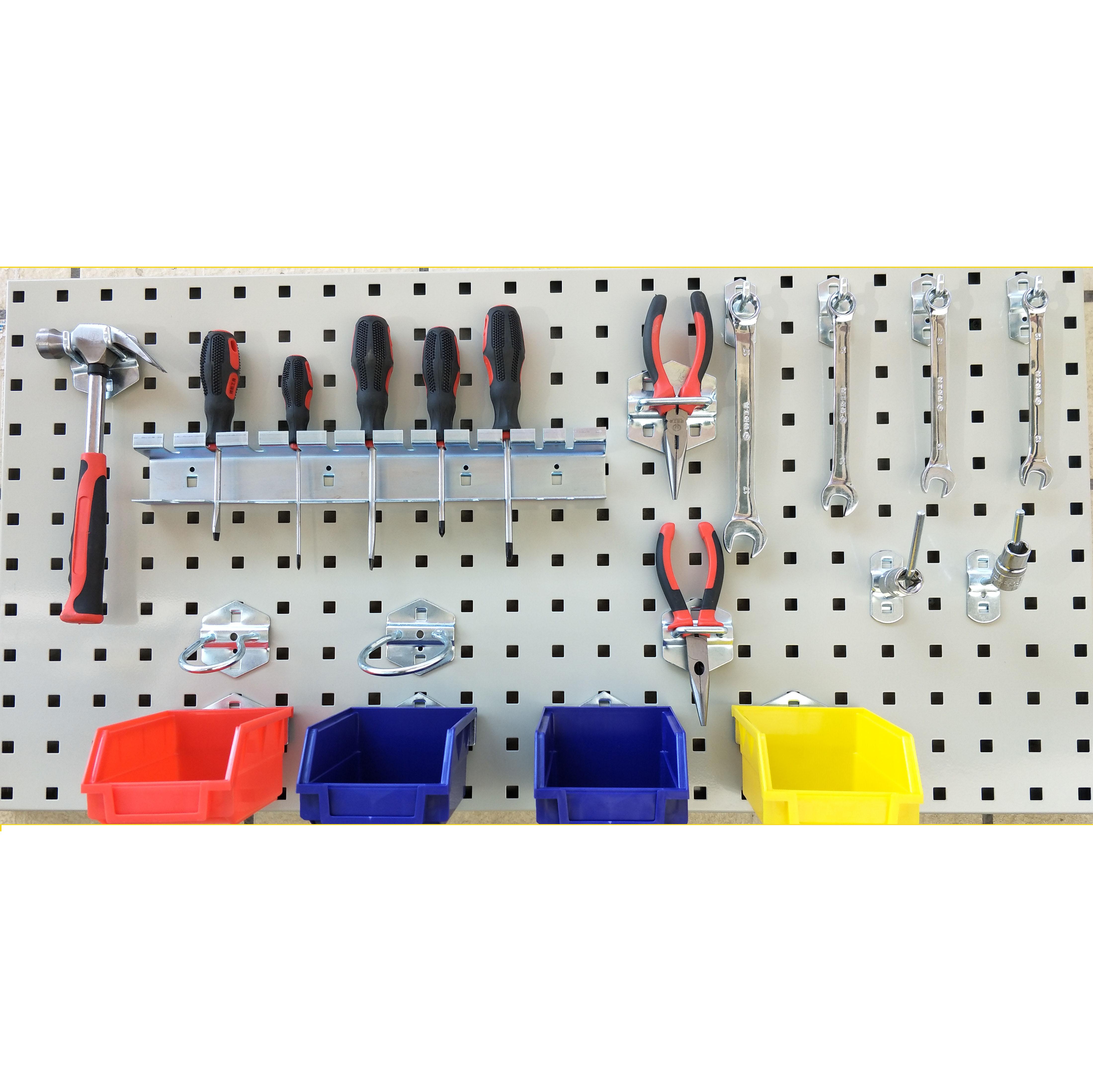 工具挂板架汽车维修工具架挂板多功能工具货架挂钩方孔工具挂板