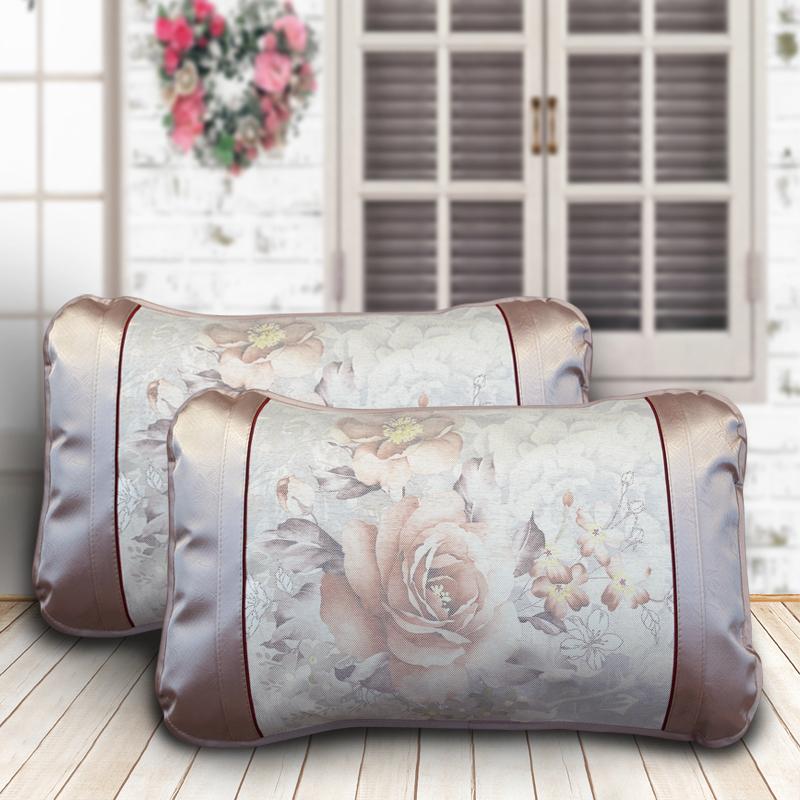 14.9包邮【一对装】夏季专用冰丝枕套夏天凉席枕头套夏凉套不含芯