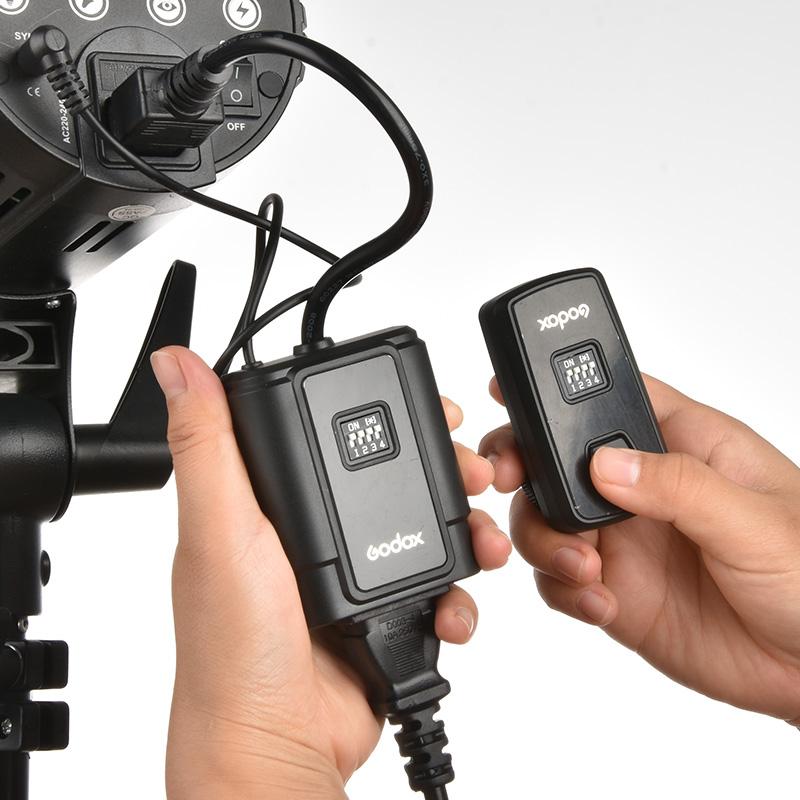 神牛DM16佳能尼康无线遥控引闪器影室灯触发器摄影棚闪光灯发射器