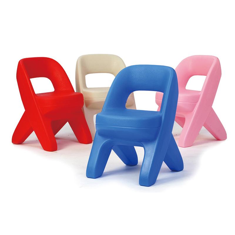 美国进口step2儿童家具桌椅套装欧式2把椅子写字台绘画桌餐桌饭桌