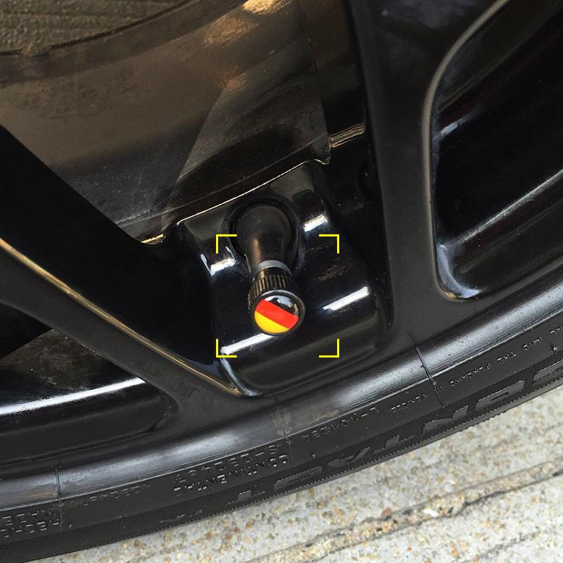 奔驰smart汽车气门嘴帽轮胎帽通用铝合金气嘴帽气门芯帽气嘴盖