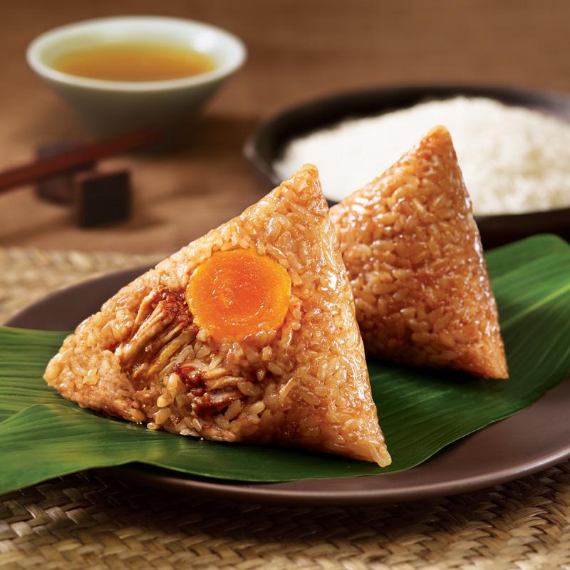 五芳斋蛋黄肉粽嘉兴特产大粽子280g*5袋新鲜散装组合包邮早餐速食