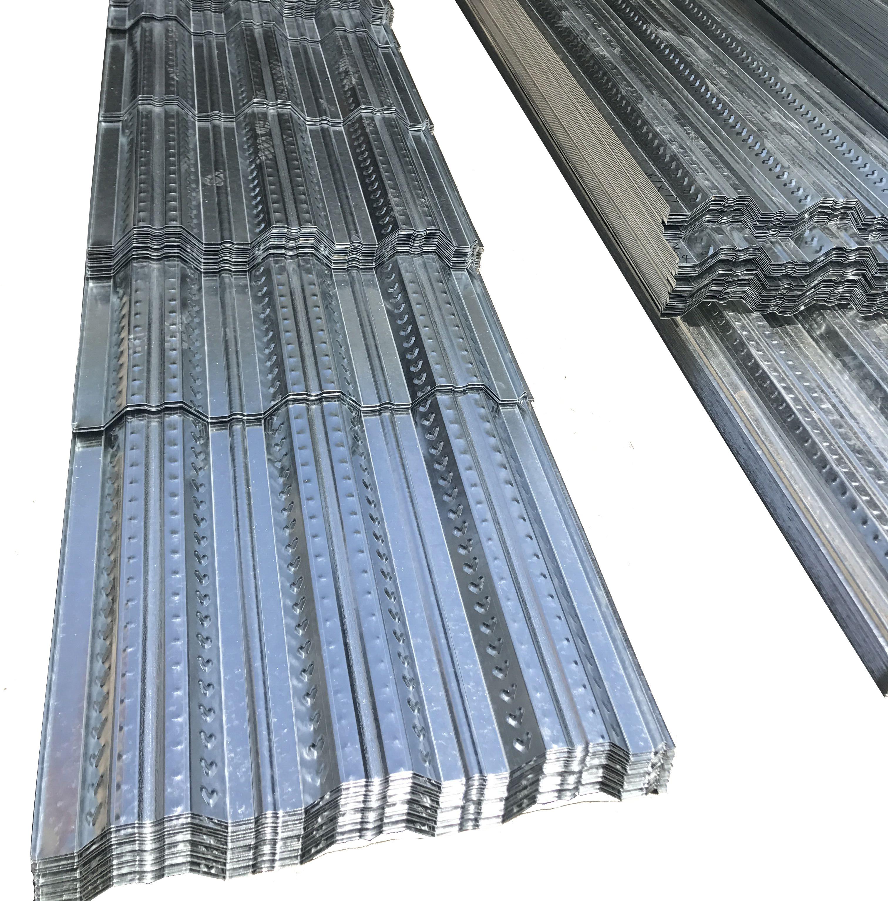 新品供应压型宽度85公分实用面积83厘米镀锌楼层板厚度定制直销