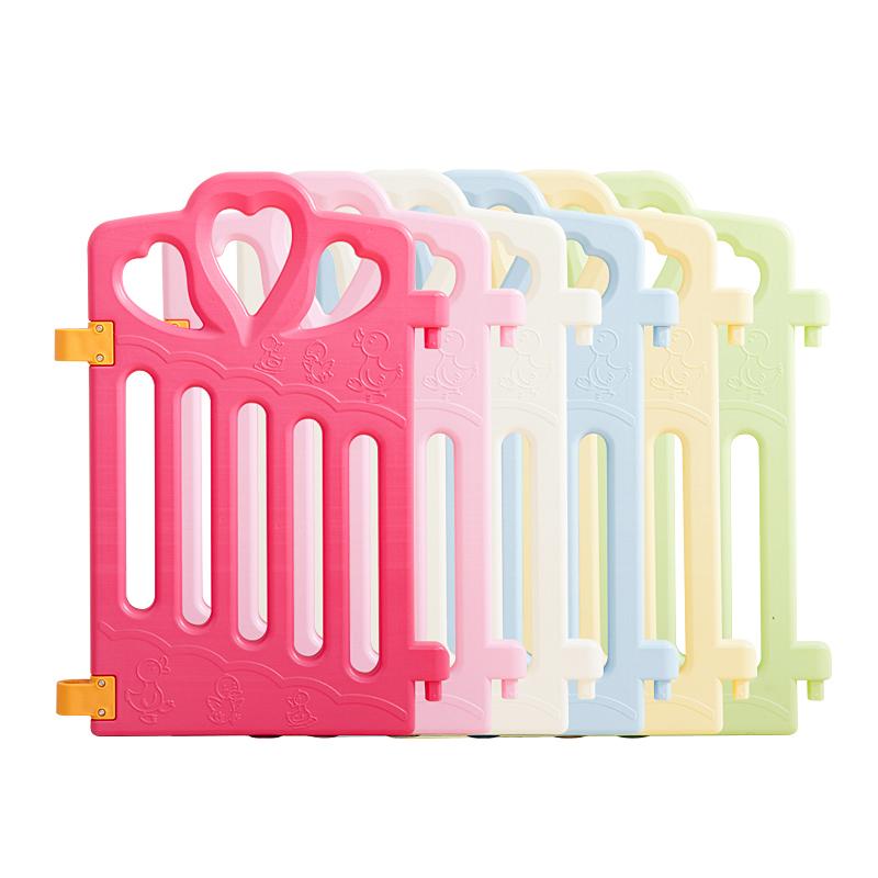 儿童游戏围栏婴儿爬爬垫宝宝家用安全爬行垫小孩婴幼儿室内防护栏