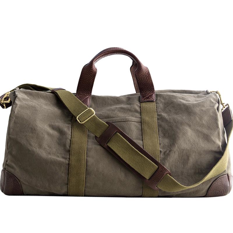 B168 埋不烂大容量帆布旅行袋休闲行李包单肩包出差手提包 尖货