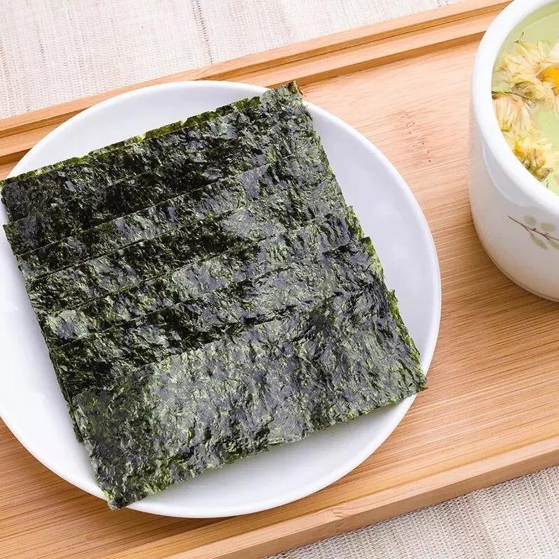 包海苔即食儿童宝宝食品海苔零食整箱批发 1.5gX54 波力海苔