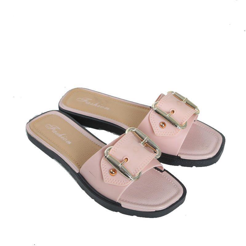 儿童拖鞋夏季韩版外穿女童小孩时尚小公主凉拖鞋亲子室内拖鞋防滑