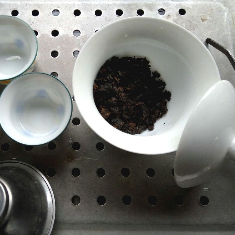 包邮 500g 木炭油切黑乌龙茶浓香型炭焙黑乌龙茶茶叶散装 黑乌龙