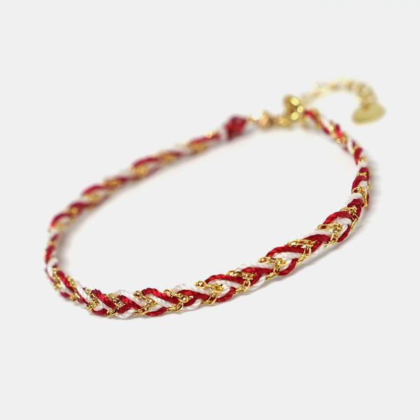 THISNESS纯银镀金手绳,100元左右创意小礼物