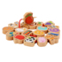 Children's beech wood beaded educational toys baby wear beads handmade wooden bead building blocks toys 1-3-6 years old boys and girls