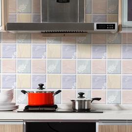 厨房壁纸自粘橱柜门家用自贴煤气灶墙贴加厚。我要买不沾油防污