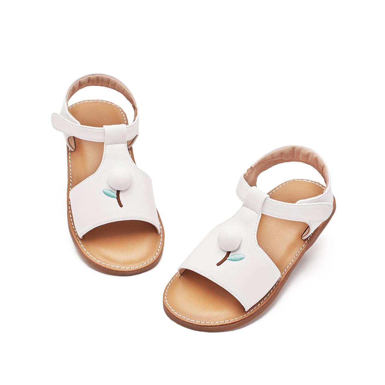 mrbaby女童凉鞋2019夏季新款中大童时尚宝宝软底小公主儿童凉鞋女
