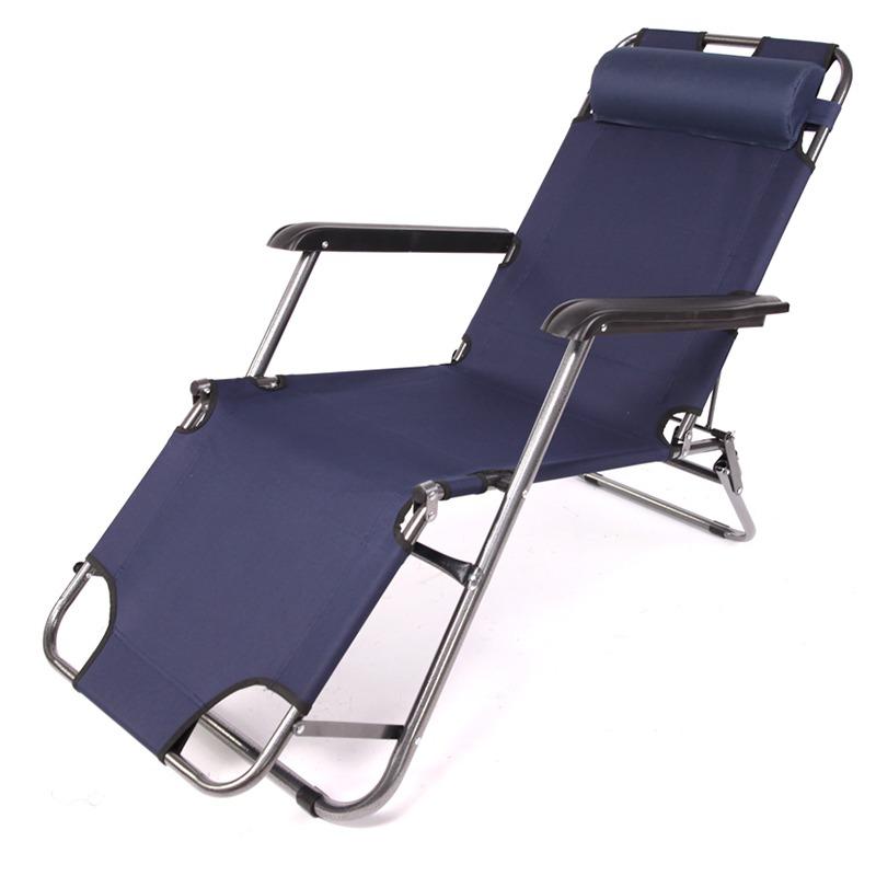 折叠椅子午休椅多功能户外便携沙滩躺椅办公室成人简易午睡床懒人