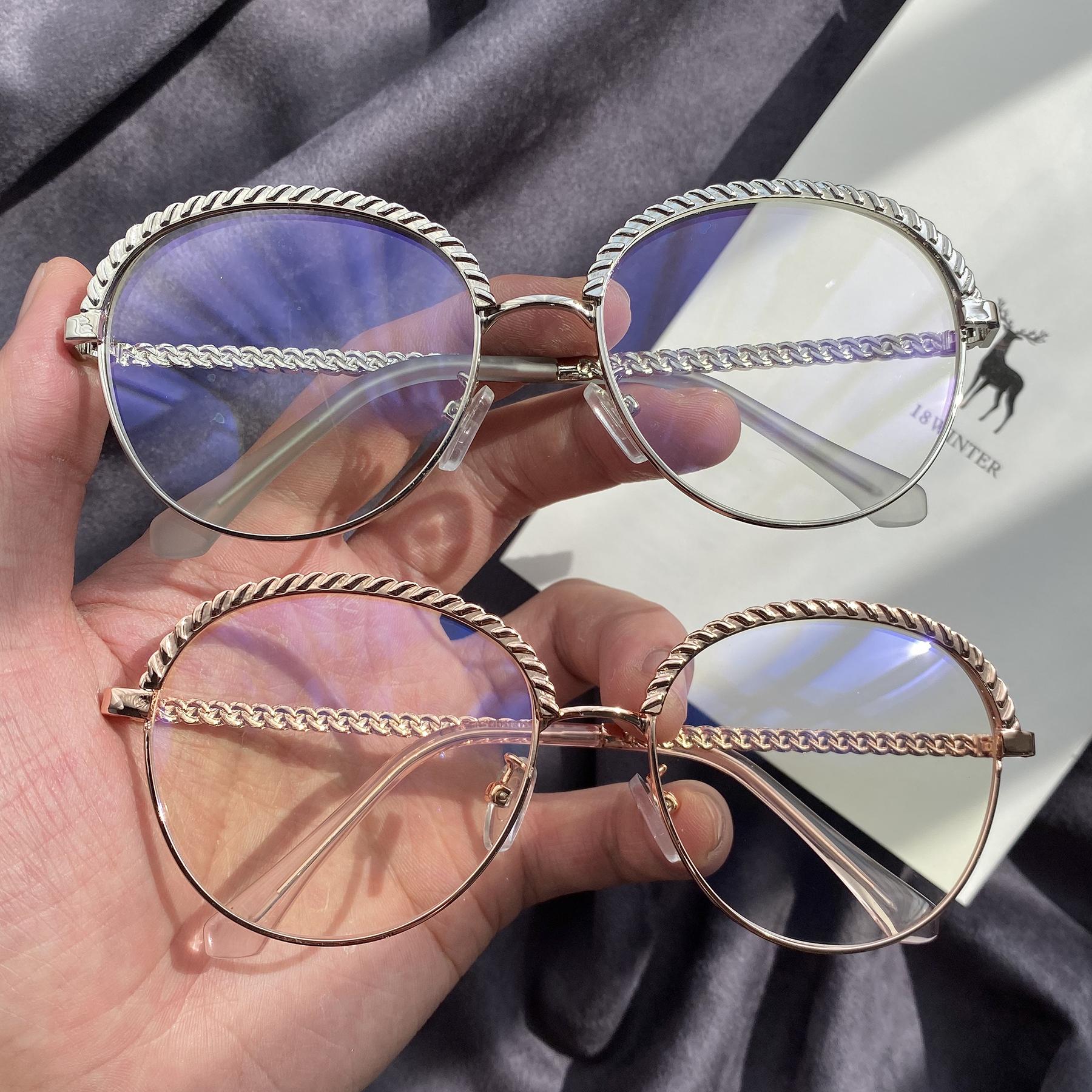 韩国新款眼镜女个性时尚大框网红抖音同款眼镜女素颜神器