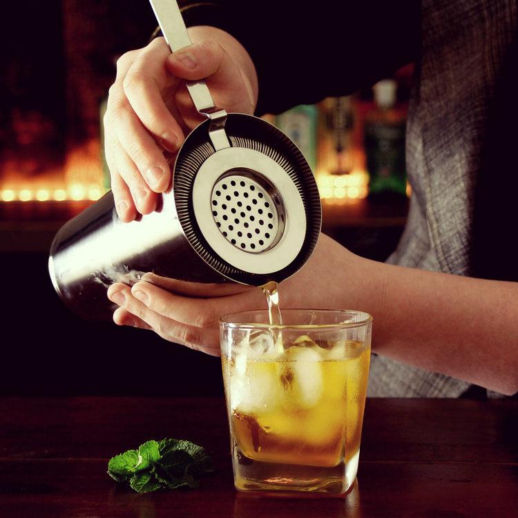 酒吧传奇 品牌酒具 欧式霍桑 调酒滤冰器 过滤器 隔冰器 Strainer