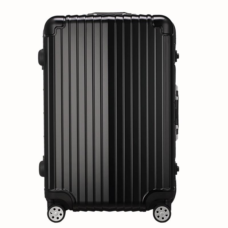 箱子黑色磨砂复古拉杆箱高端欧美行李箱万向轮旅行箱 PC 正品纯 OCCA
