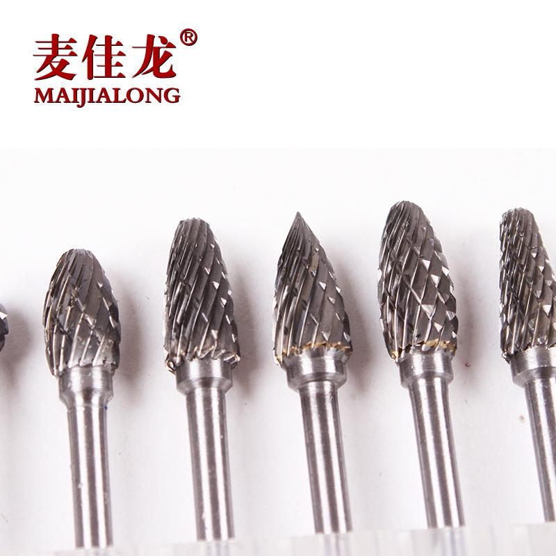 硬质合金旋转锉  钨钢铣刀  3*6mm  钨钢磨头