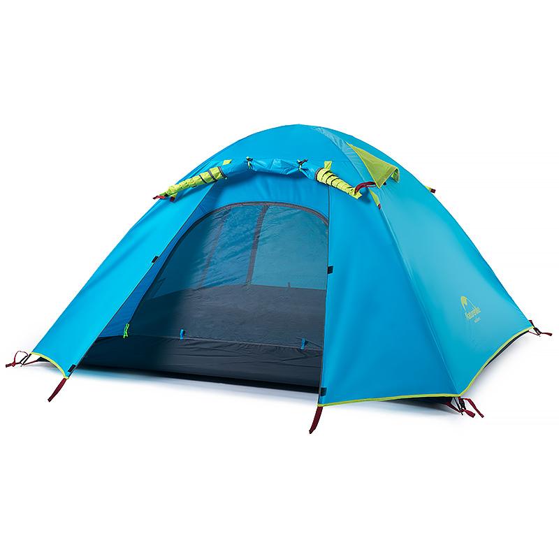 人野外防晒加厚沙滩帐篷 4 人 3 人野营露营帐篷 2 挪客铝杆帐篷户外 NH