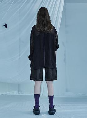 日着暗黑系女装2021年夏季新款 百搭薄款防晒衣宽松休闲外套女