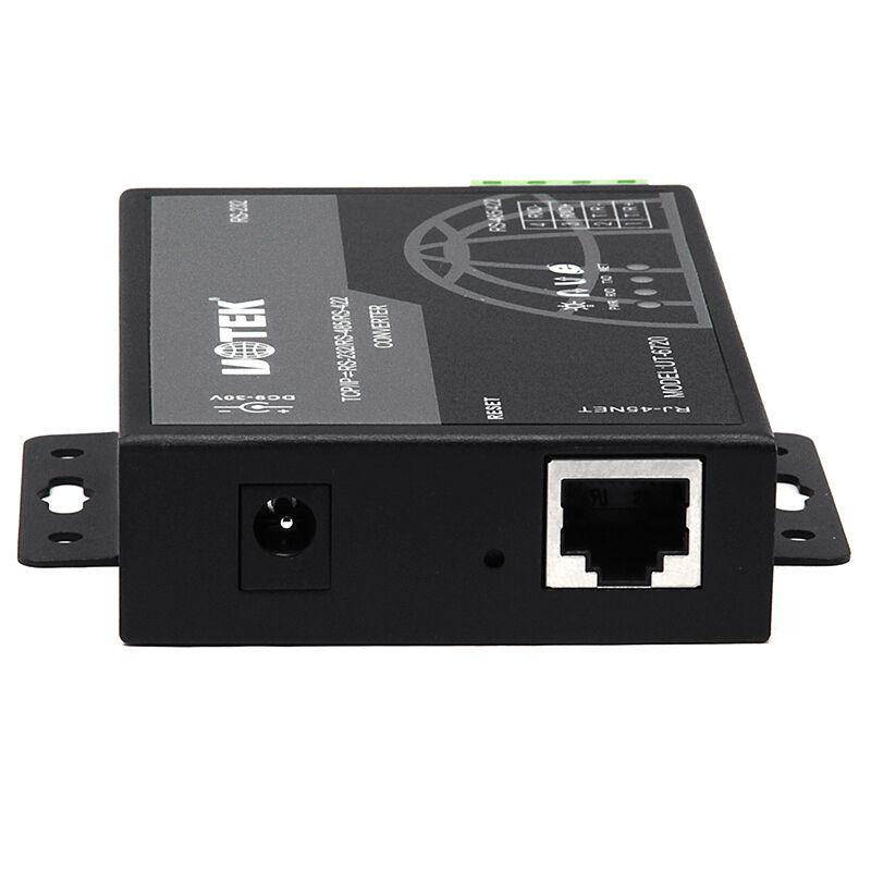 宇泰UT-6720 485转以太网TCP/IP到串口服务器RS232/rs422/rs485网络转换器模块转网络协议网线通讯RJ45