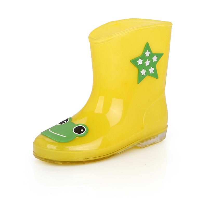春秋季儿童雨鞋男童女童宝宝雨靴幼儿防滑水鞋中童小童小孩胶鞋套