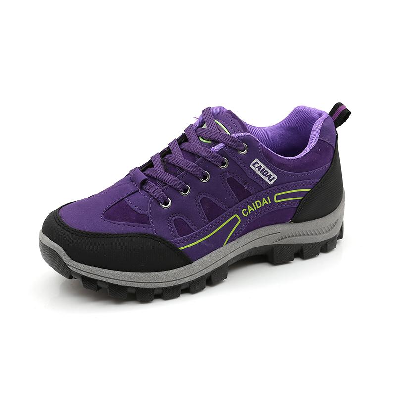 新款登山鞋秋季户外女徒步鞋防滑耐磨旅游鞋爬山运动防水轻便女鞋