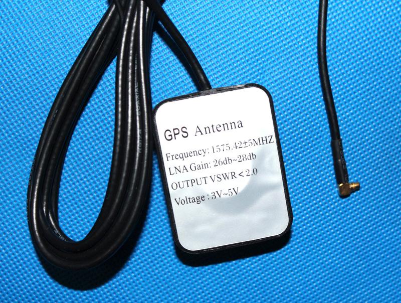 云镜记录仪天线 HS710A 凌度 弯口有沾天线带磁铁 MMCX 天线 GPS 厂家