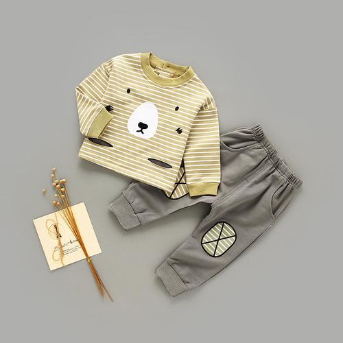 婴儿儿童保暖内衣纯棉宝宝秋衣套装秋裤衣服幼儿男童女睡衣春秋薄