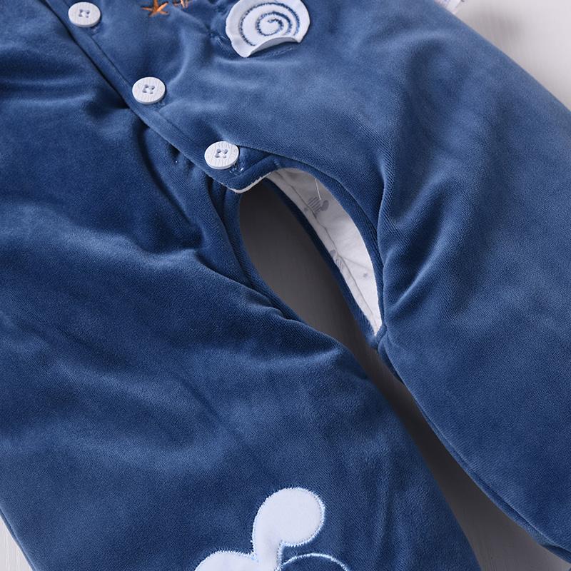 婴儿棉衣套装加厚新生儿衣服三件套秋冬棉袄男女宝宝冬装外套棉服