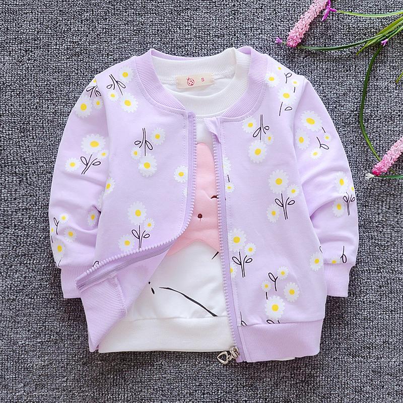 宝宝秋款外套男童女童薄开衫婴儿纯棉上衣儿童秋季衣服0-1-2-3岁