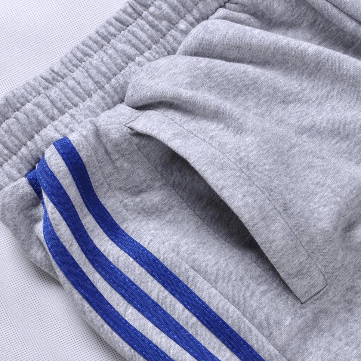 夏季运动裤男长裤薄款跑步裤大码宽松收口裤秋季针织休闲篮球卫裤