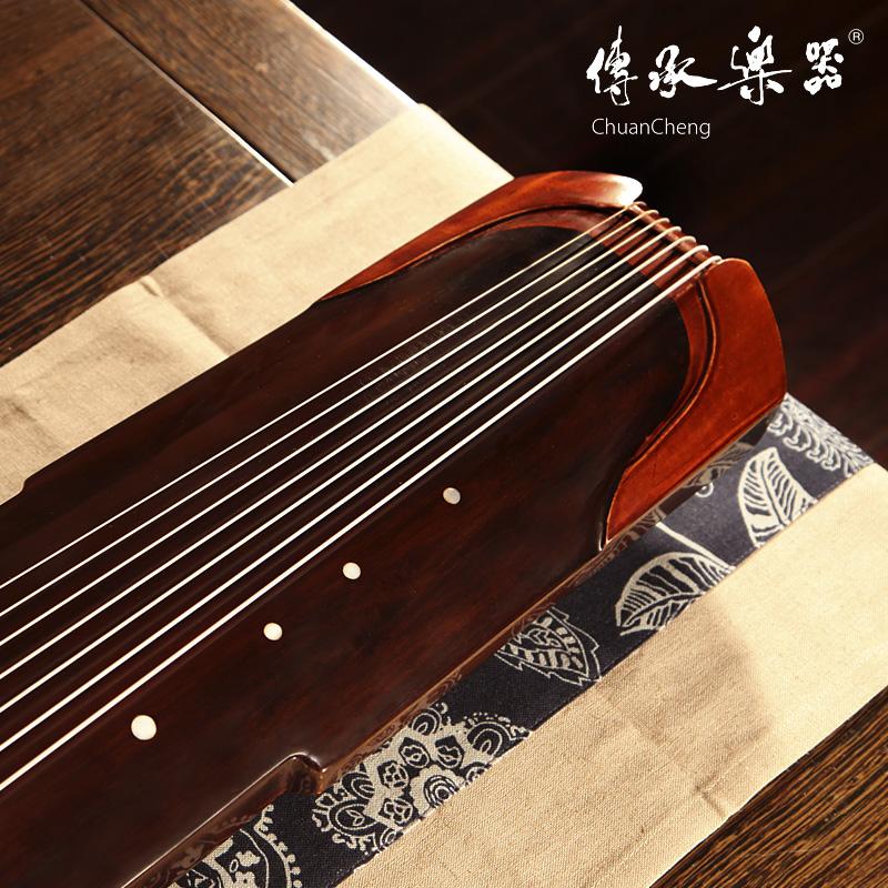 包邮 送全套配件 初学练习古琴 承牌桐木仲尼式古琴七弦琴