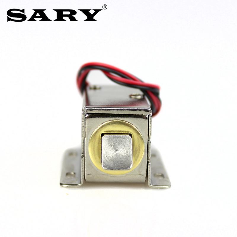 插销锁 24V 12V 小型电控锁柜门锁电子锁电锁电磁阀直流 03 LY 电磁锁