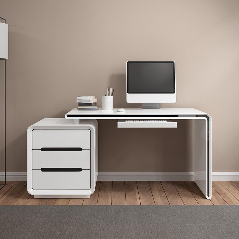 熙度傢俱 臺式電腦桌 家用寫字檯 辦公桌臥室電腦桌書桌書架組合