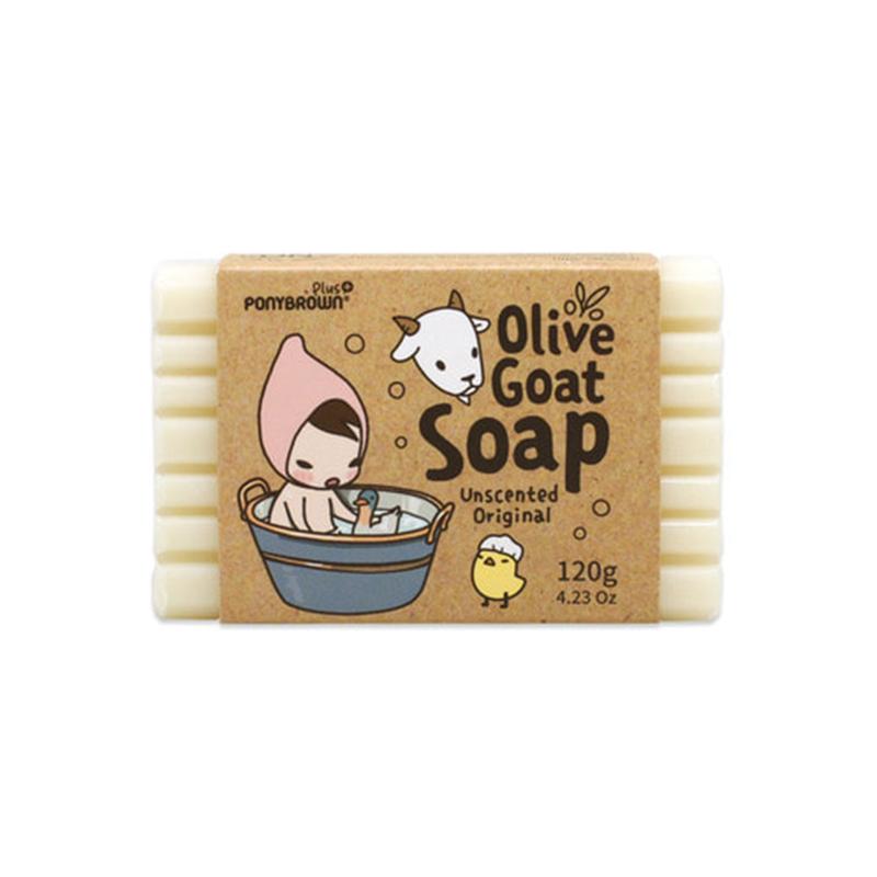 韩国Ponybrown童印天然橄榄羊奶皂系列 温和清洁柔嫩滋养 易冲洗优惠券
