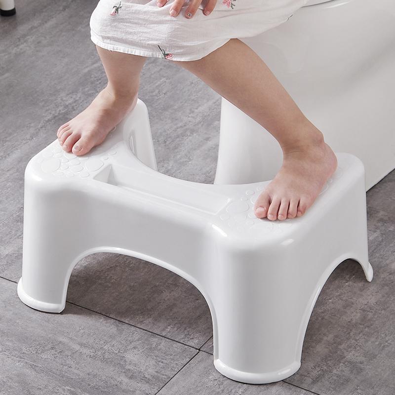 优思居 塑料马桶凳子 成人卫生间蹲坑蹲便凳浴室厕所脚踏垫脚凳