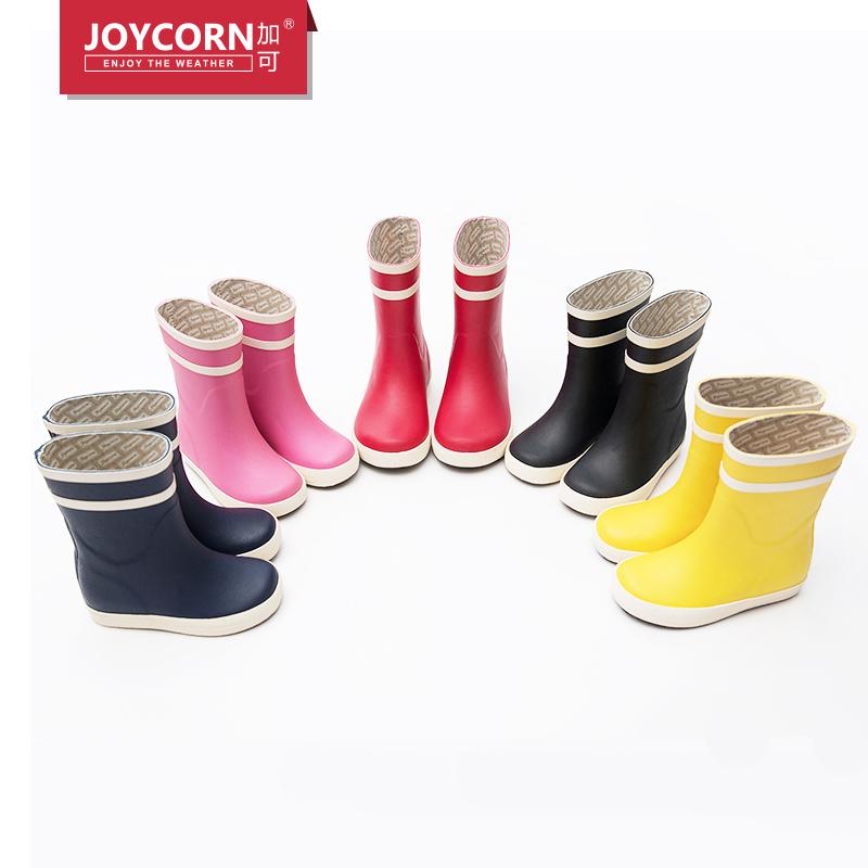 Joycorn儿童雨鞋男女童防滑亲子橡胶雨靴小童宝宝小孩水鞋防滑