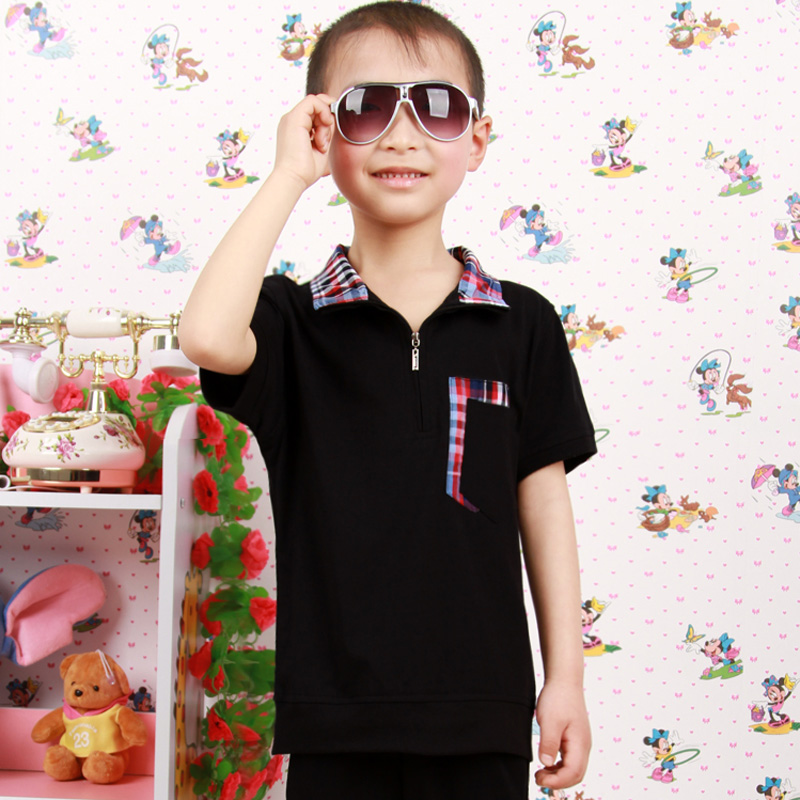 d8d1bf87183 2016 kids children boys and girls summer short sleeve casual suit genuine  medium and small children s day performance clothing uniforms